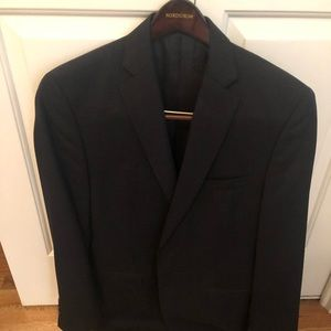 Men's Navy Calvin Klein Suit (jacket & pants). 40R